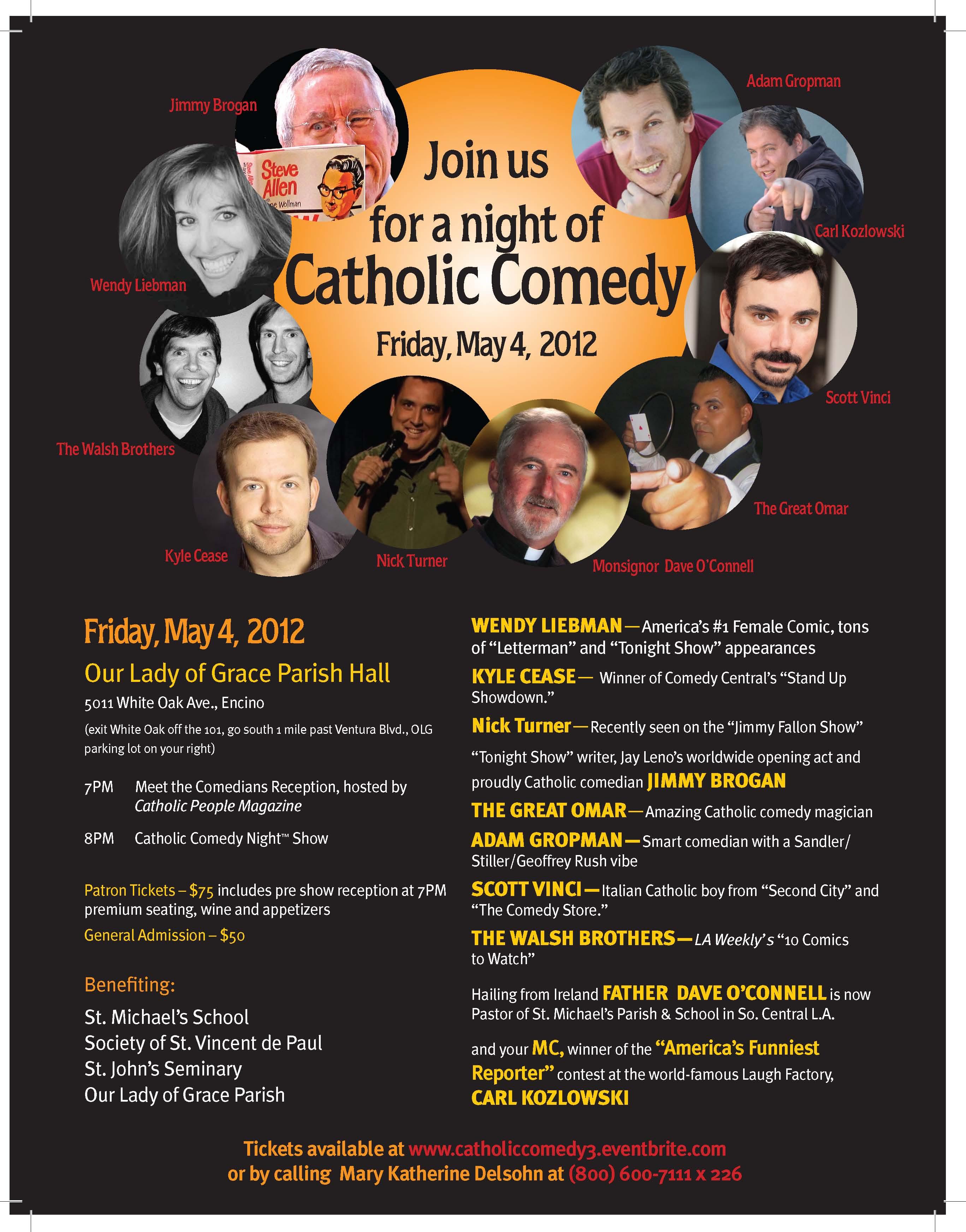 Catholic Comedy III