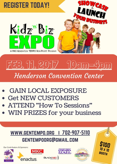 Kidz N Biz EXPO Flyer