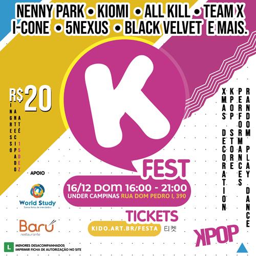 K-FEST sua festa de K-POP em Campinas
