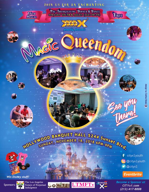 Magic Queendom Flyer