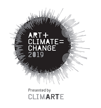 ART+CLIMATE=CHANGE 2019 logo