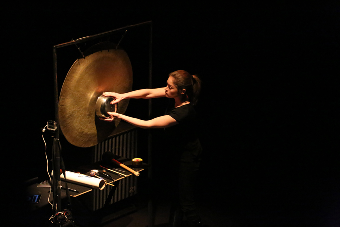 Louise Devenish at Tura New Music's Scale Variable 2016 Concerts - Photo Bohdan Warchomij