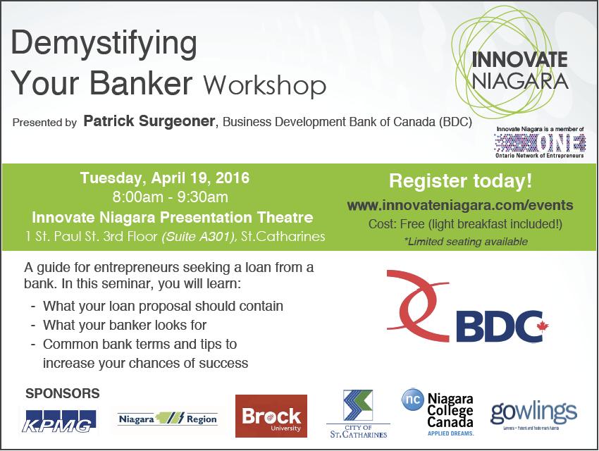 Demystifying Your Banker workshop