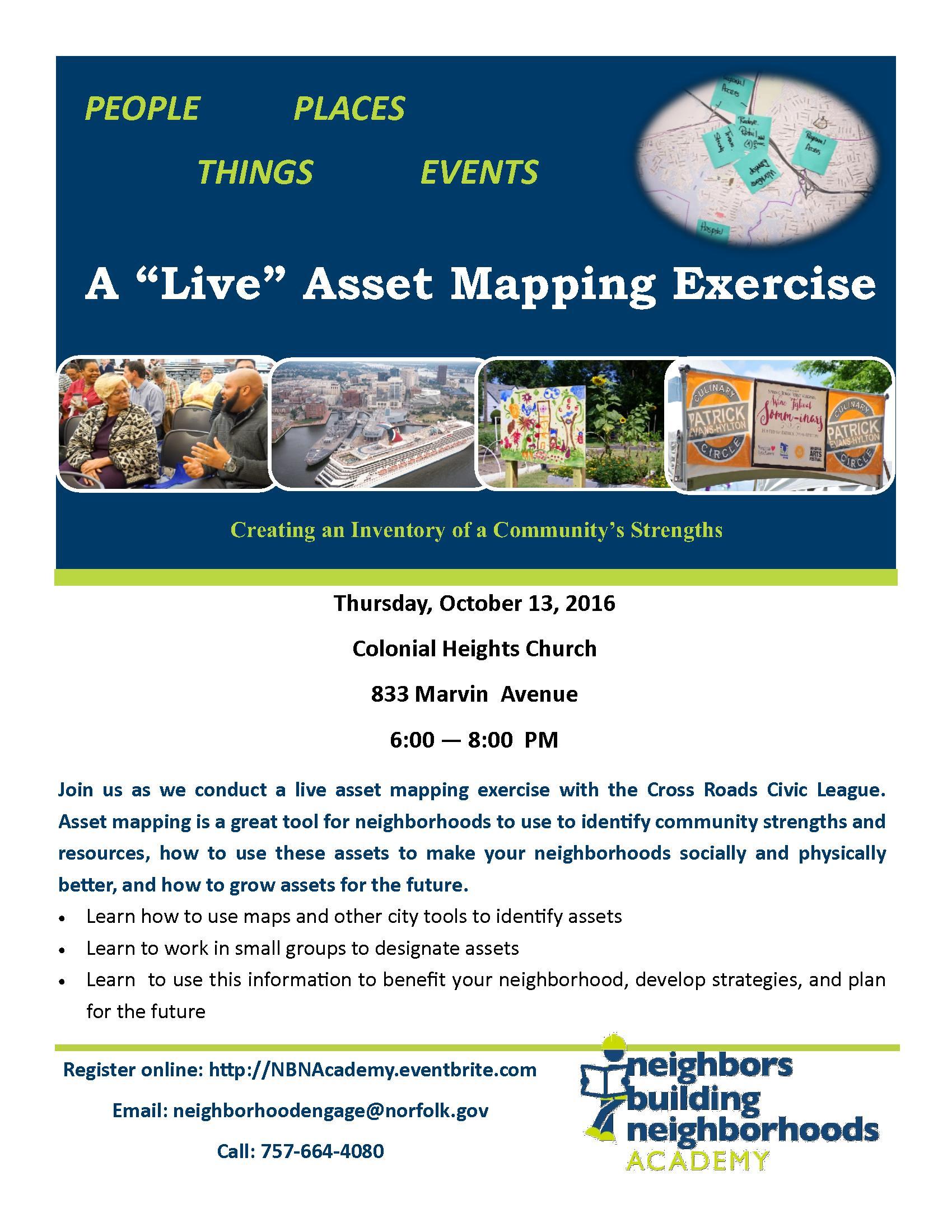 Asset Mapping Flier
