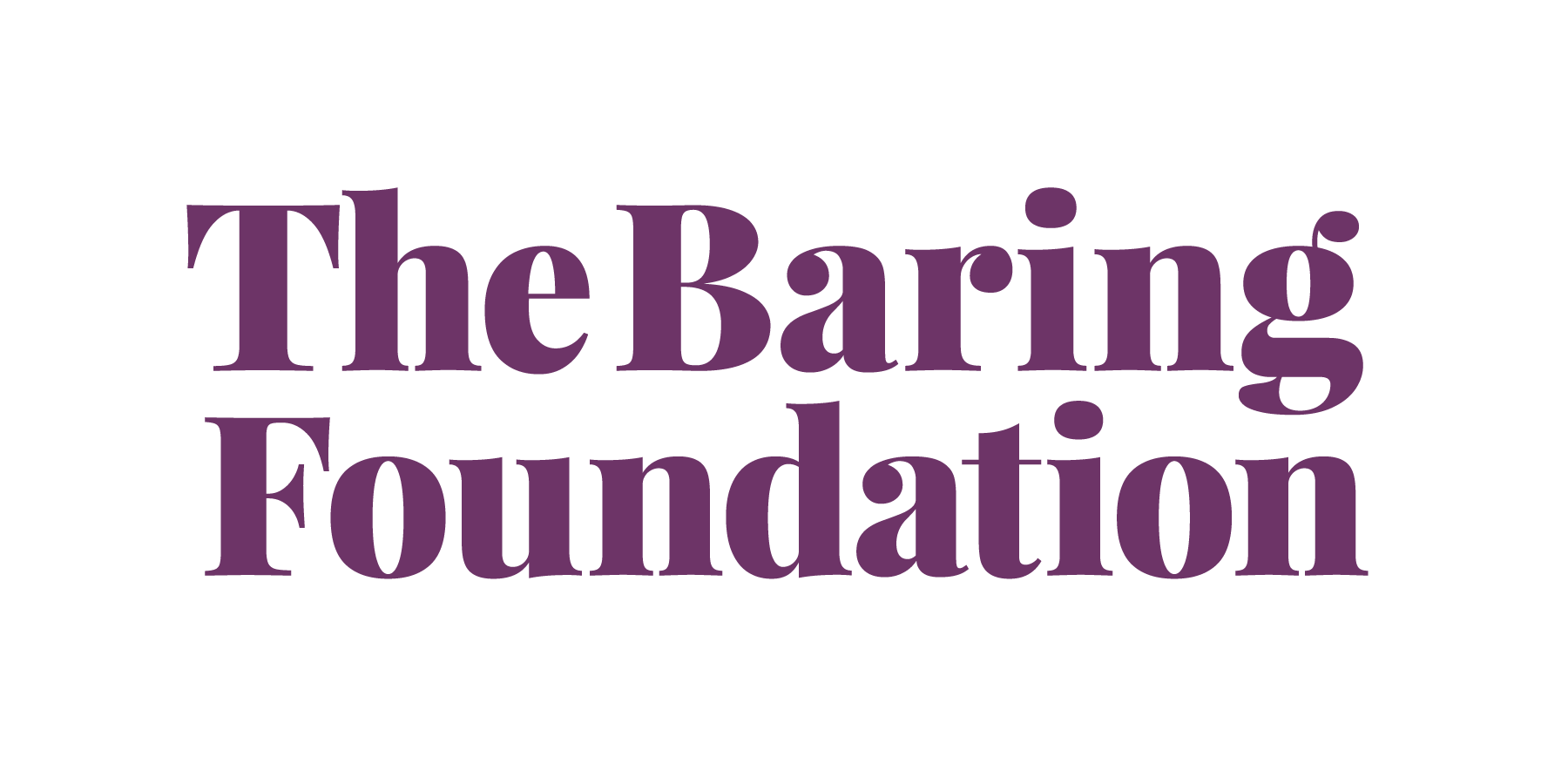 Baring Foundation Logo
