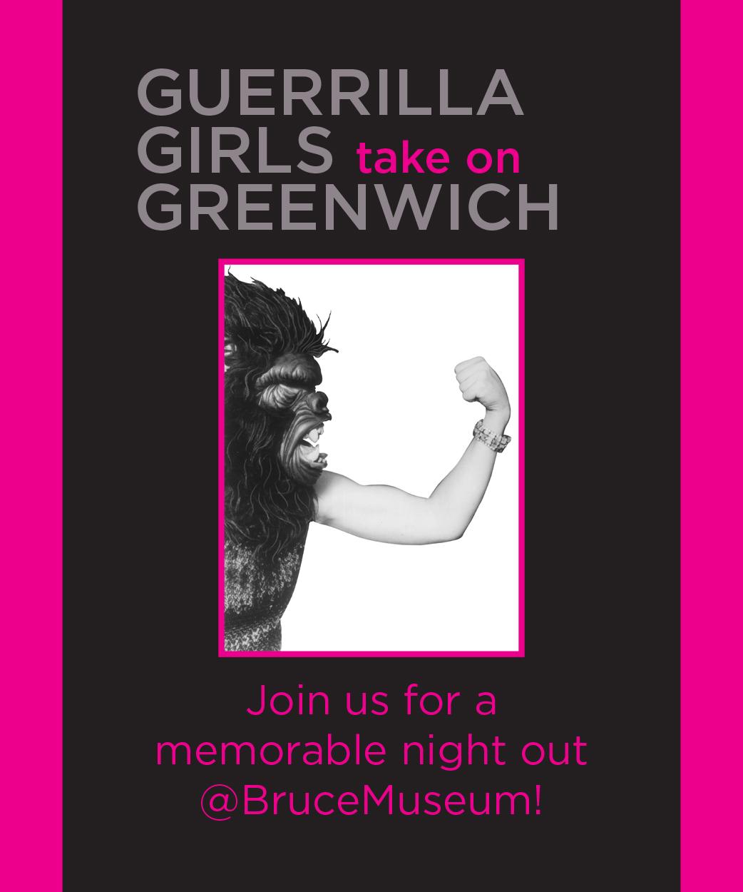 Guerrilla Girls Take On Greenwich