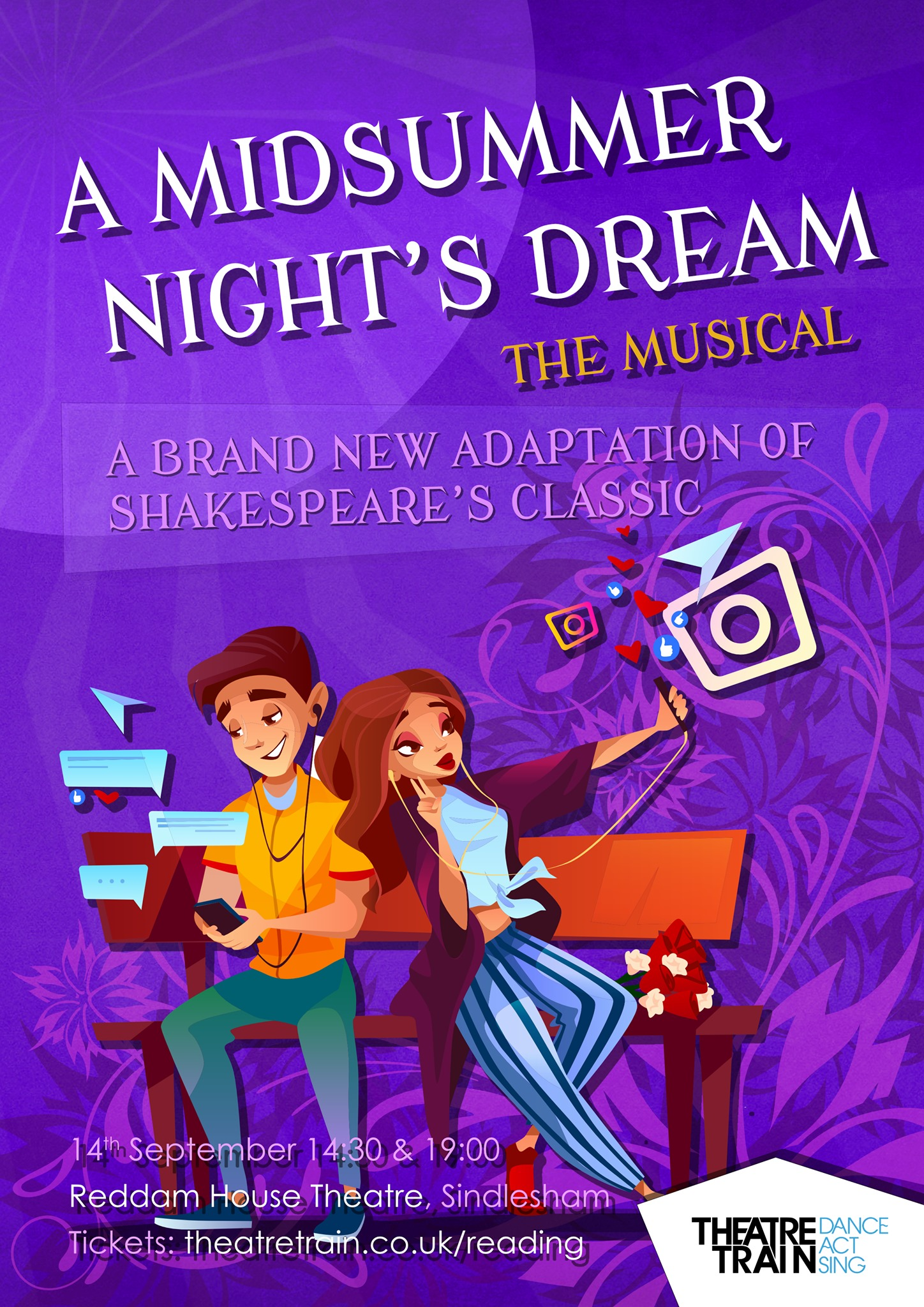 A Midsummer Night's Dream: The Musical featuring West End Professionals and Theatretrain Reading