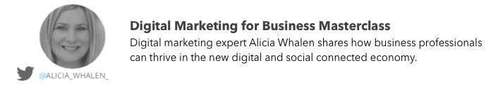 Alicia Whalen digital marketing expert