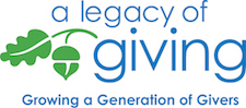 A Legacy of Giving logo