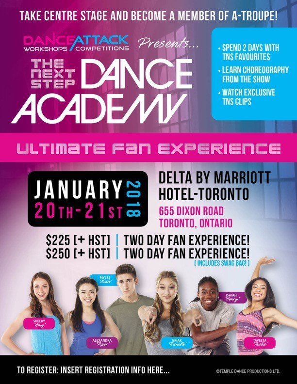 The Next Step Dance Academy Poster