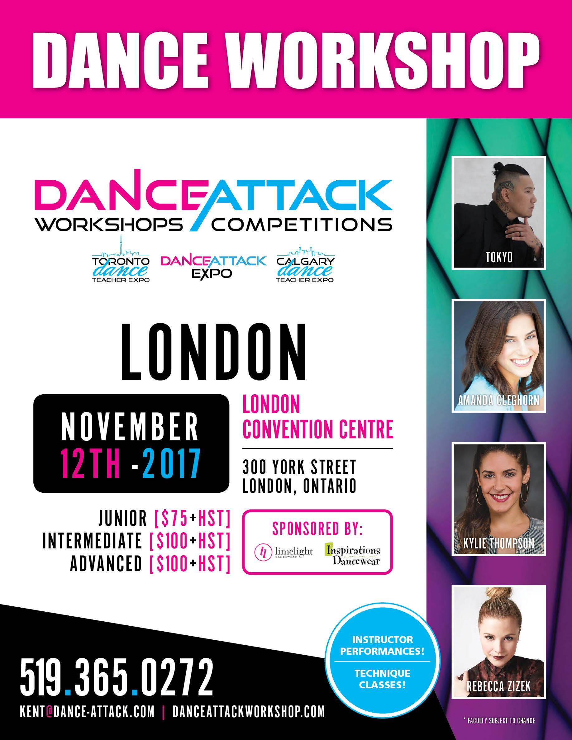 London Workshop Poster