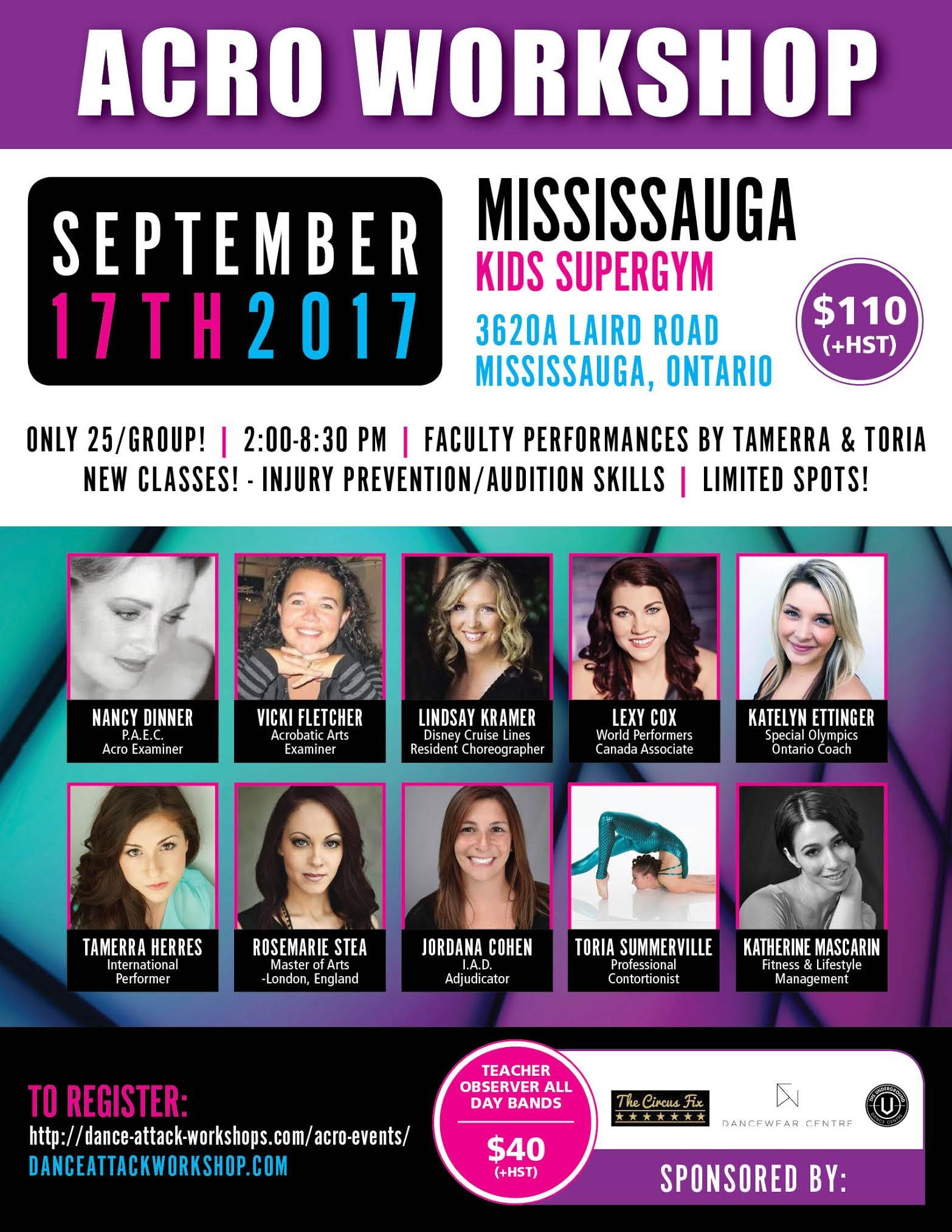 Mississauga Acro Workshop