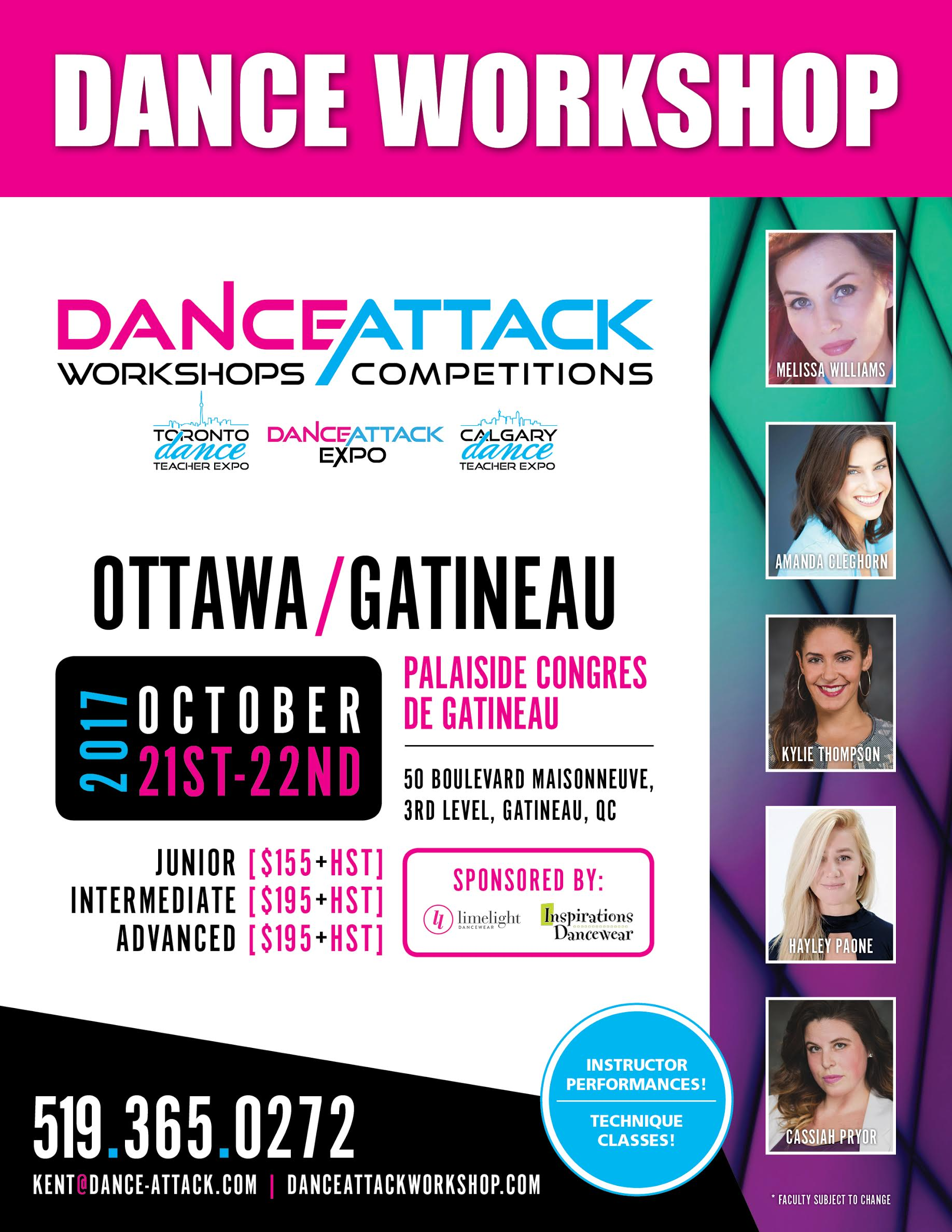 Ottawa Workshop Poster