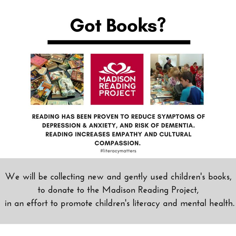 Got Books? Madison Reading Project
