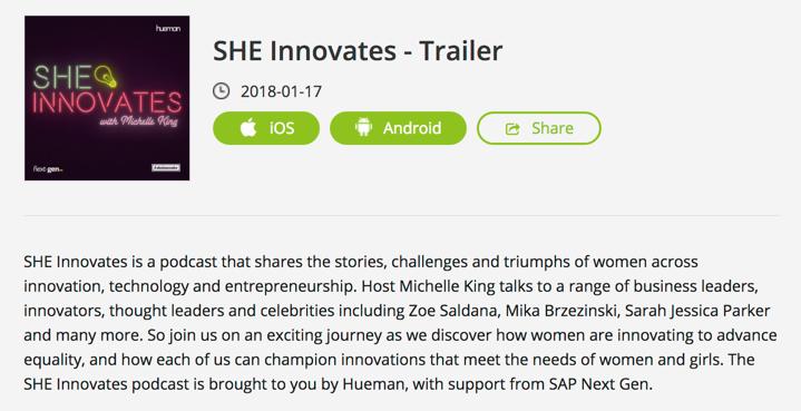 She Innovates