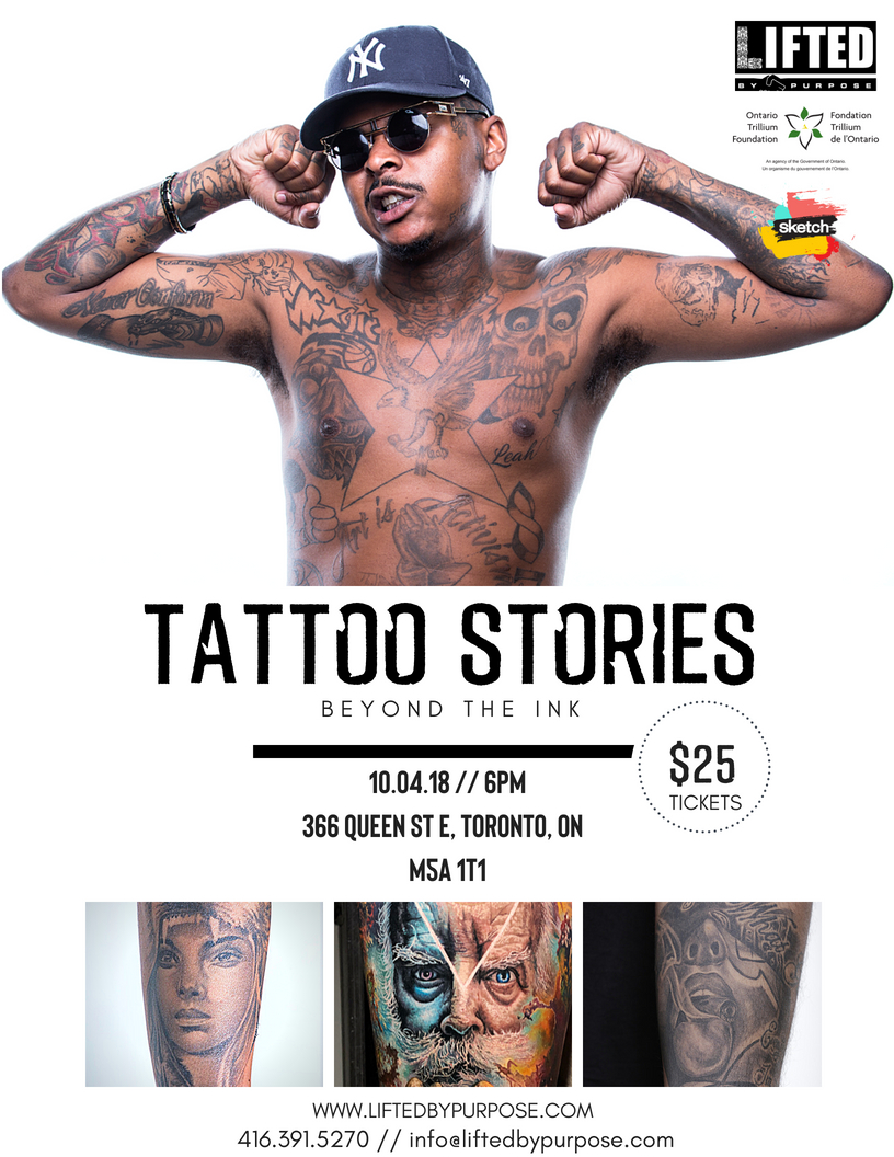 LBP 3rd Annual Tattoo Stories Exhibit