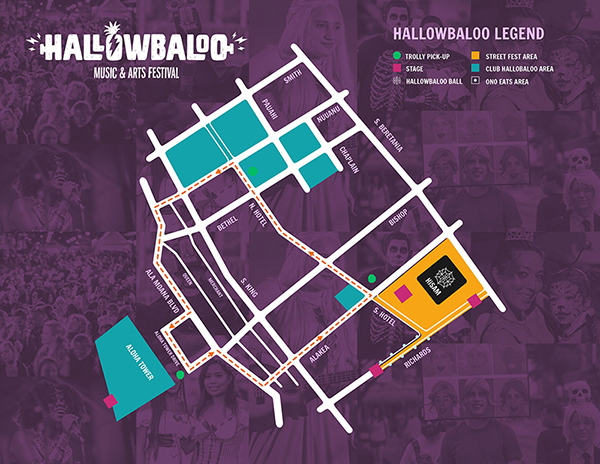 Hallowbaloo 2016 - Map