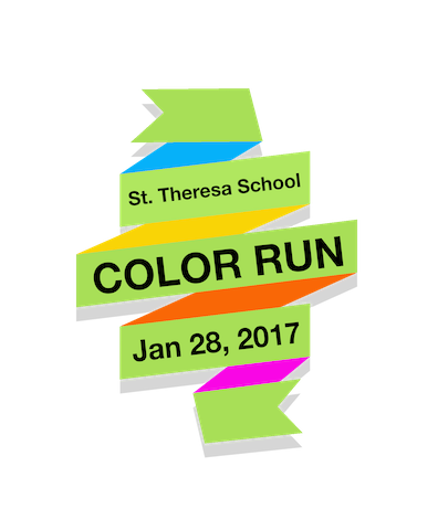 2017 STS Color Run Logo