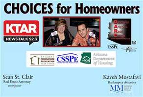 CHOICES for Homeowners Workshop -Oct. 24th -Harkins Tempe...