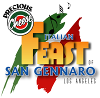 10th Annual Precious Cheese Feast of San Gennaro LA 2011