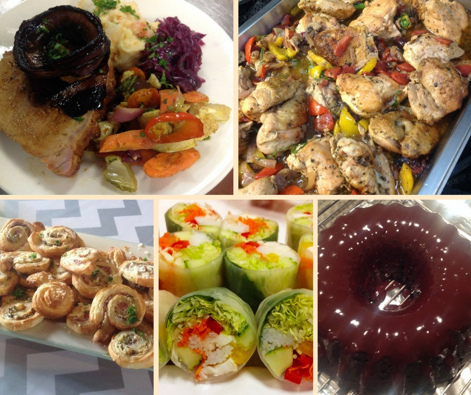 Autumn Feast Collage