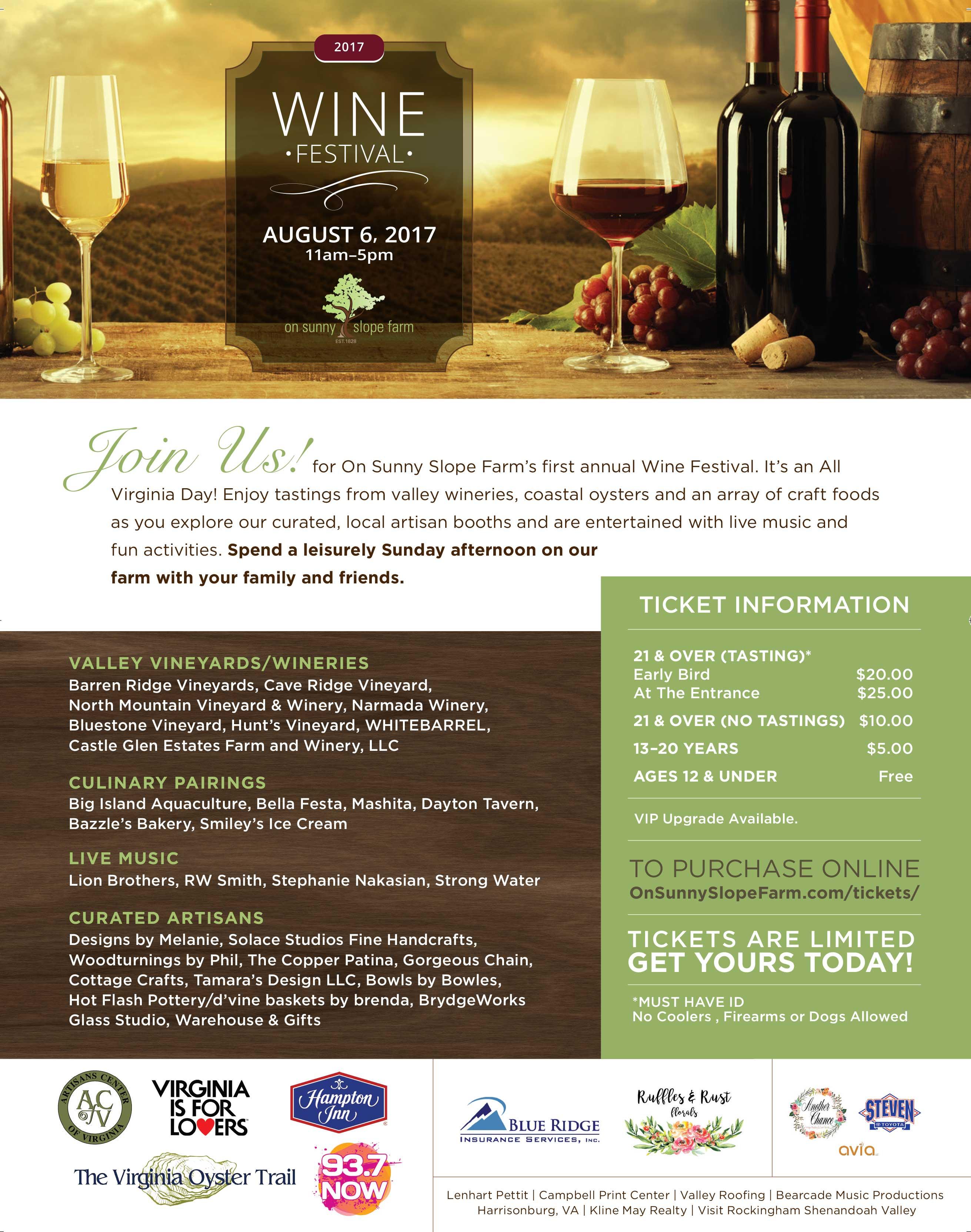 Wine Festival Poster