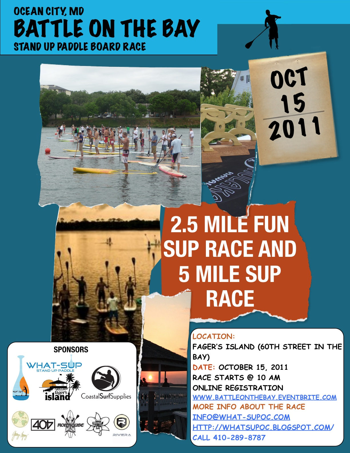 Battle on the Bay SUP Race Oct 15