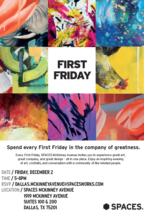 Dallas First Friday Flyer