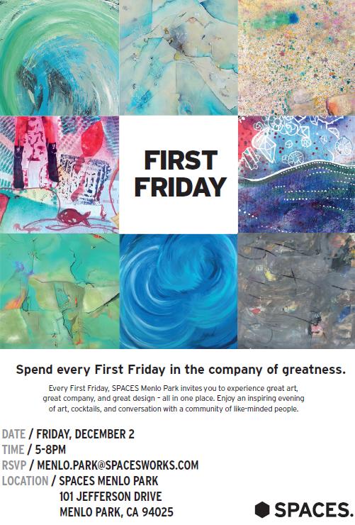 Menlo Park First Friday Flyer