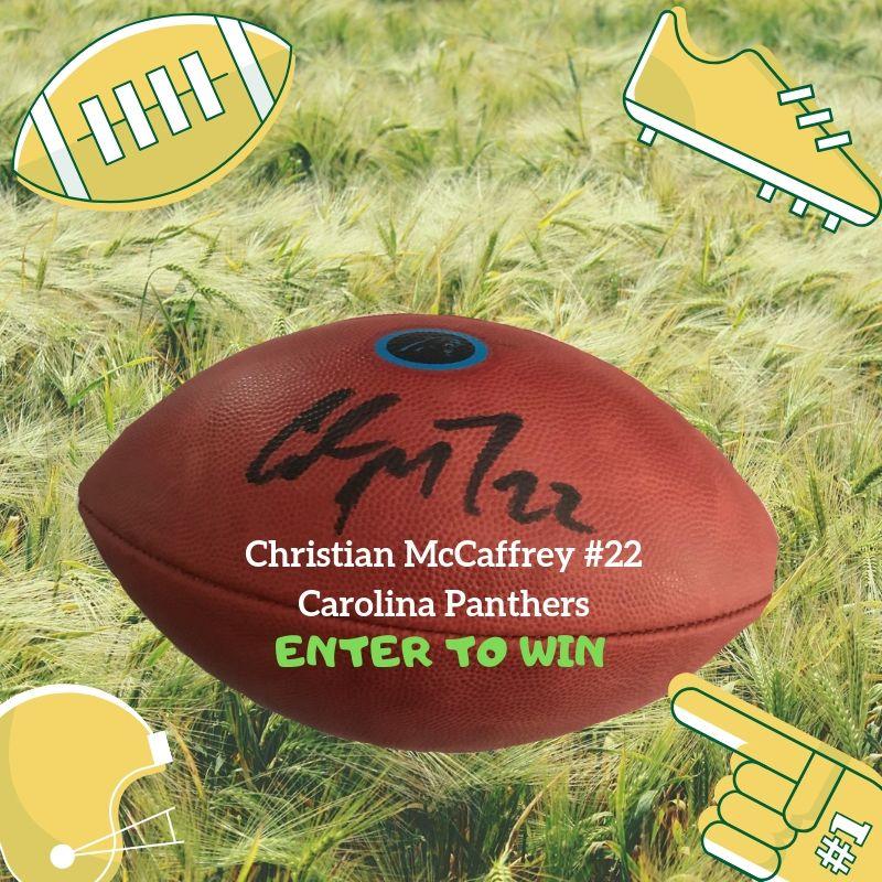 Christian McCaffrey #22 Carolina Panthers