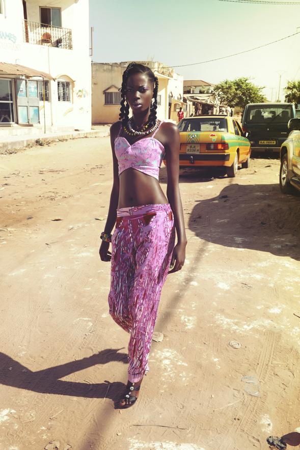 Maimuna Jobe Gambian model