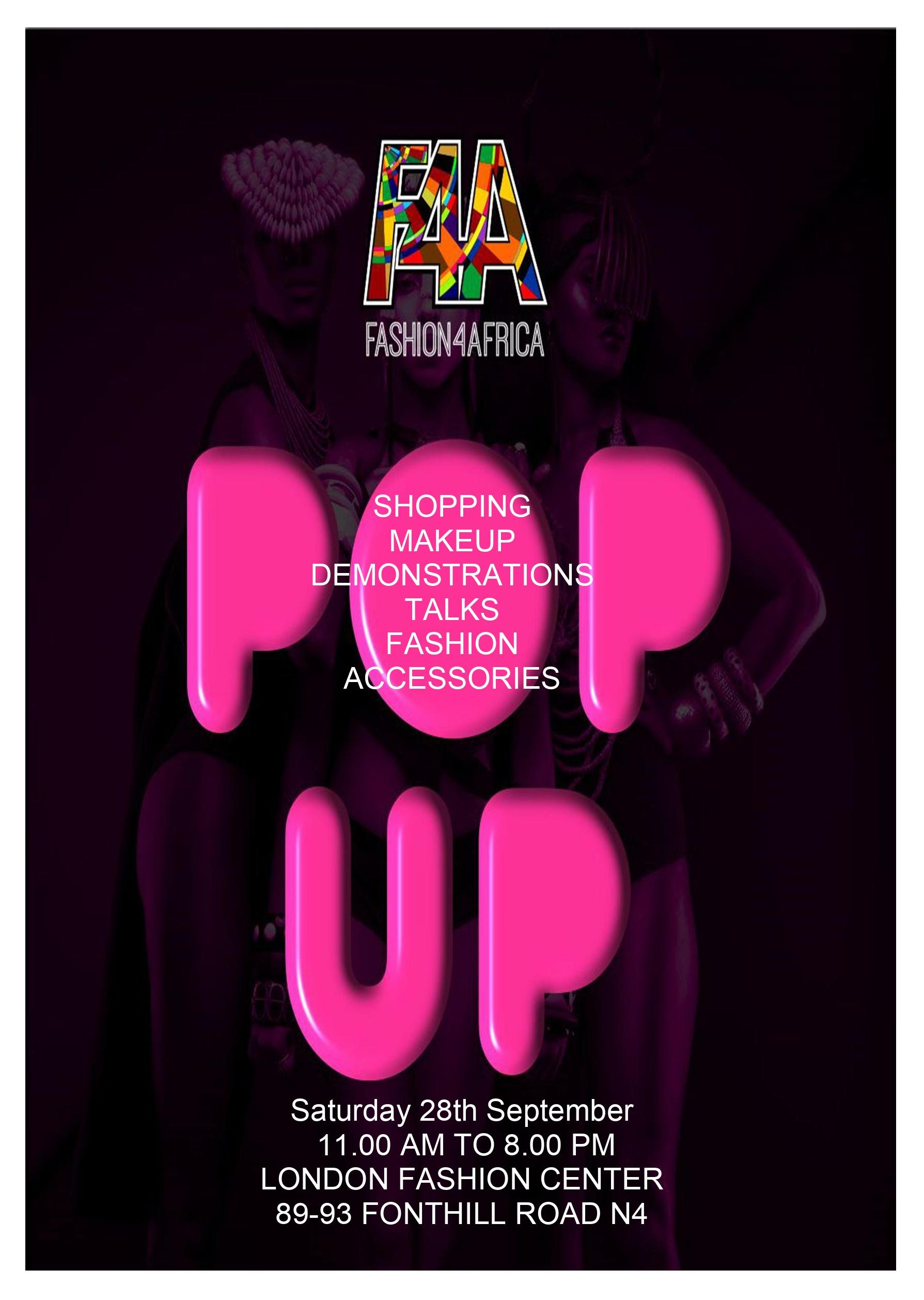 Pop Up flyer 2019