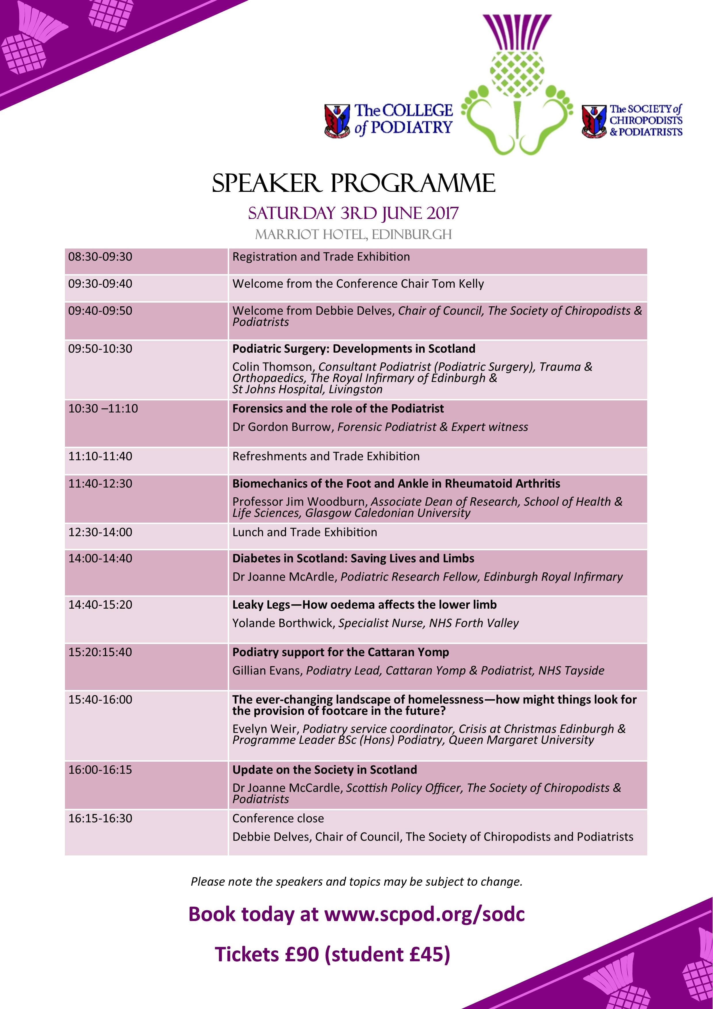 programme SODC