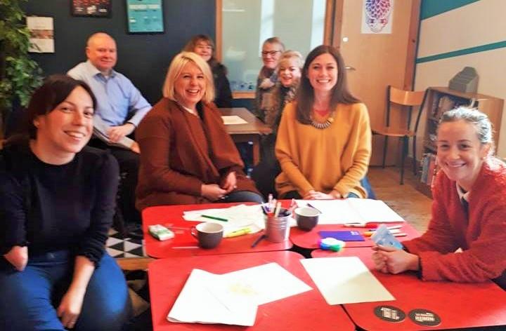 Photo of delegates at Ikigai workshop