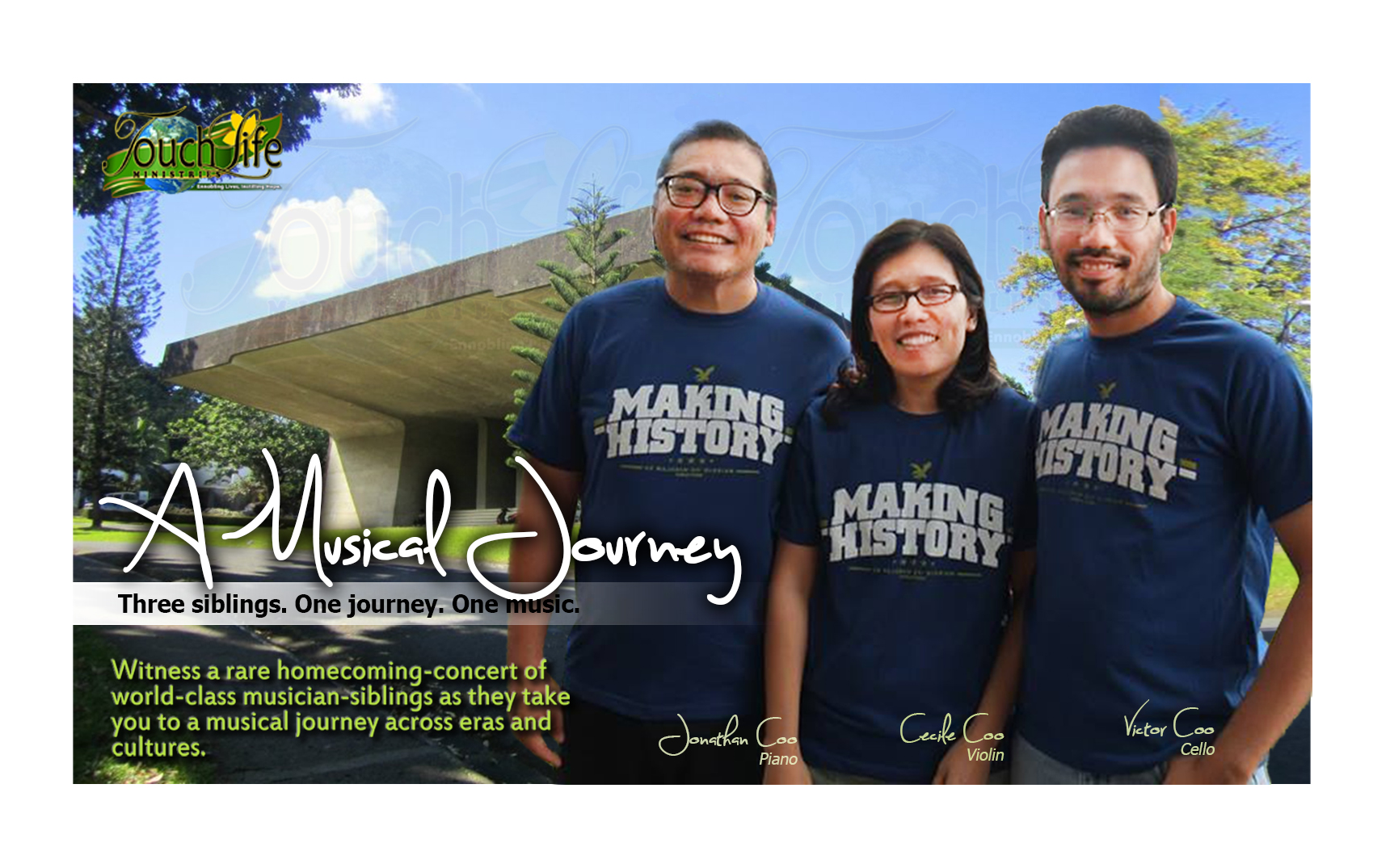 A Musical Journey - Three siblings. One Journey. One Music.