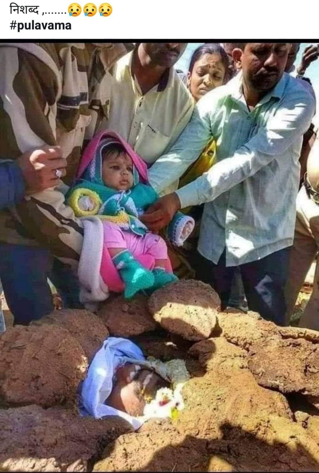 20190214 Murdered Indian Soldier with baby