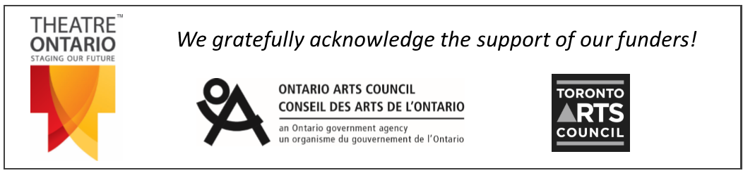 Theatre Ontario Funders