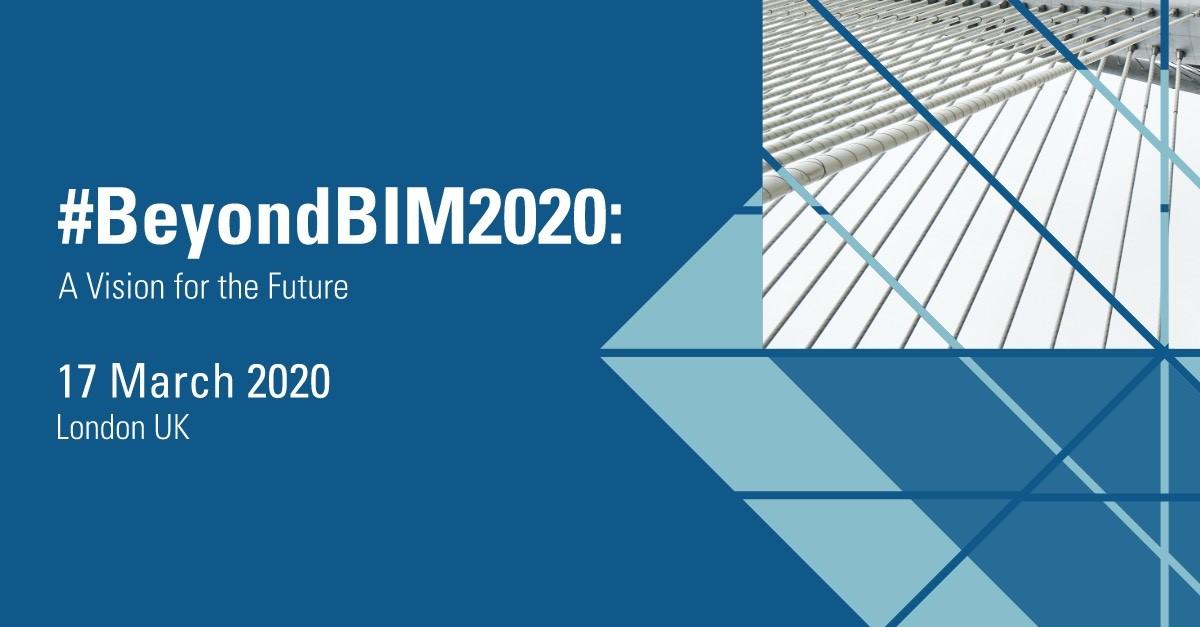 #BeyondBIM2020 A vision for the future AEC symposium