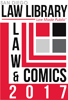 law and comics logo 2017