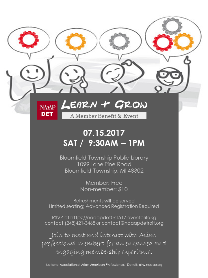 Learn & Grow 071517