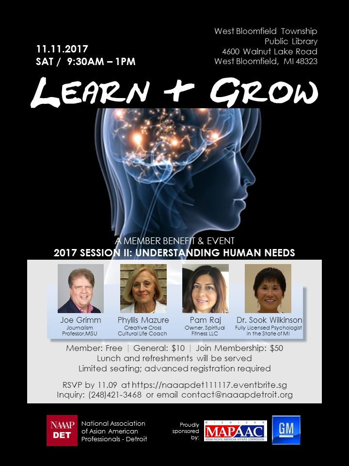 Learn & Grow 111117