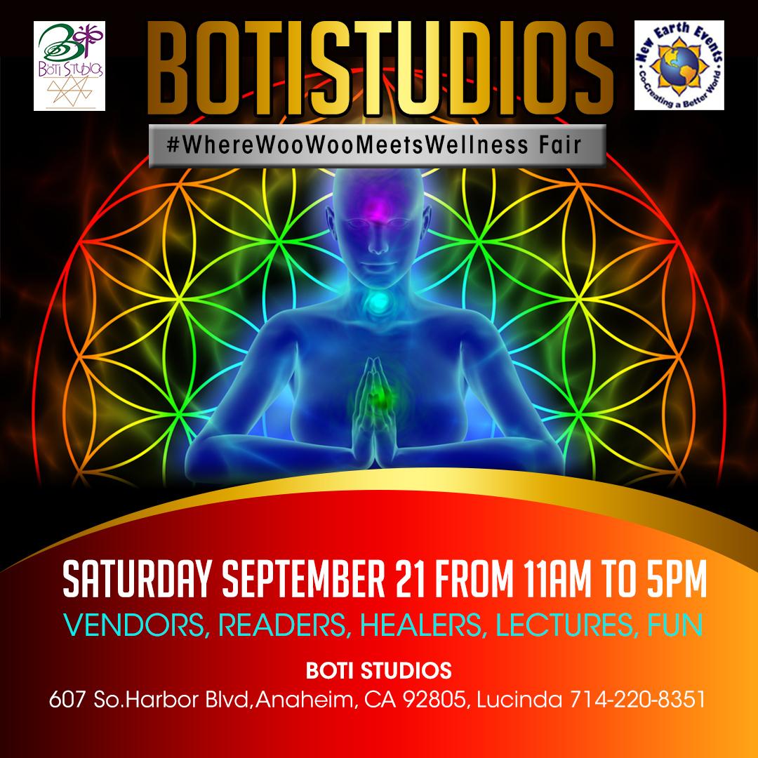 BOTI Studios #WhereWooWooMeetsWellness Fair Tickets, Sat