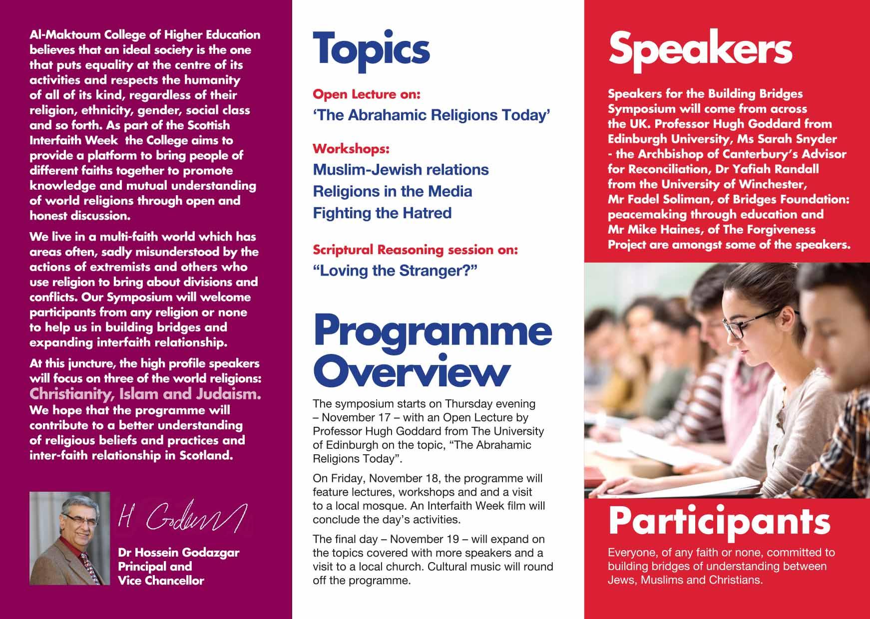 Symposium Leaflet 2