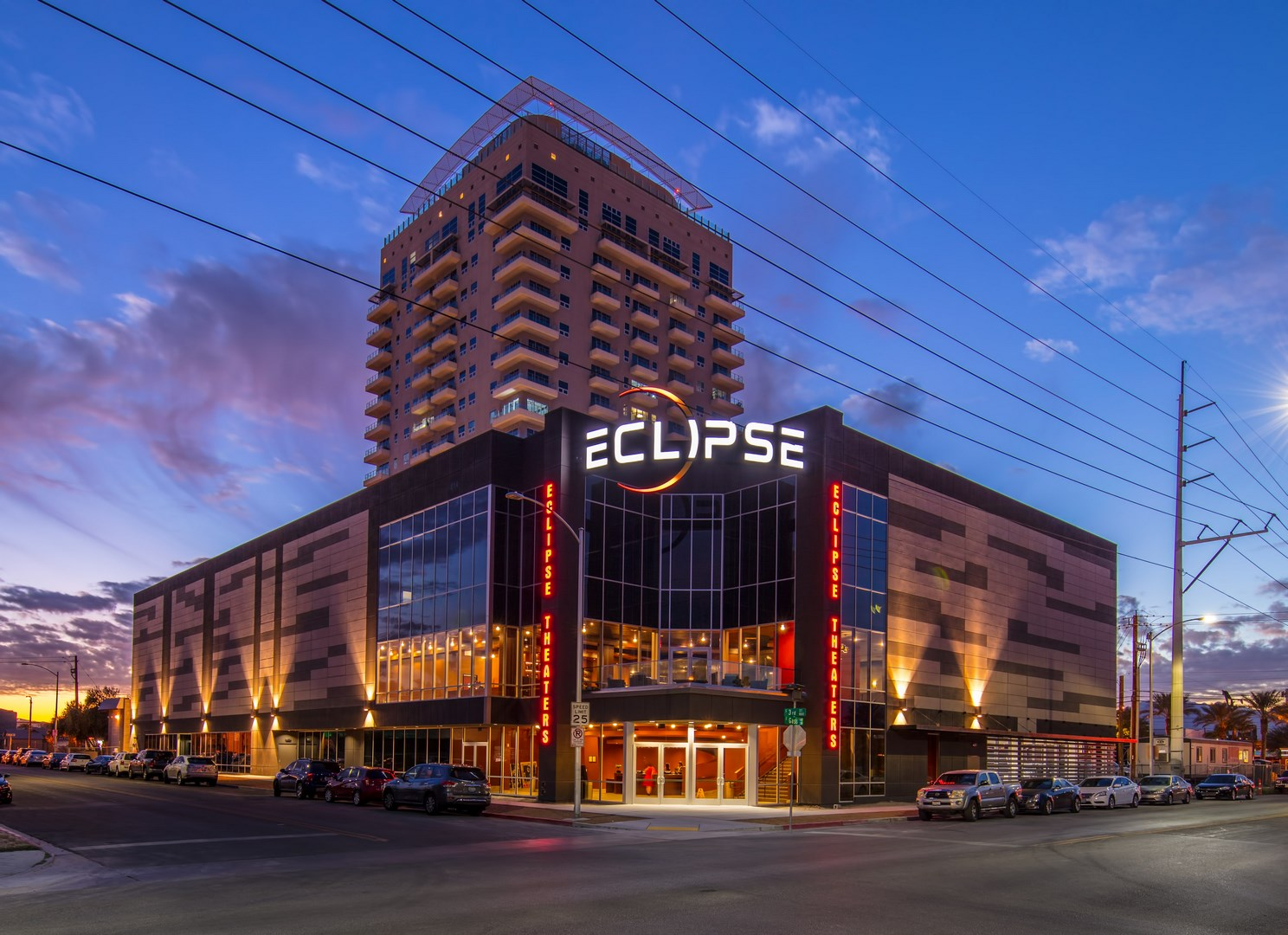 Eclipse Theater-Outside view