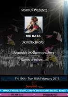 Soar UK Presents....RIE HATA UK Workshops