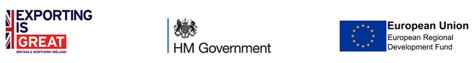 EIG, HM Government & ERDF Logos