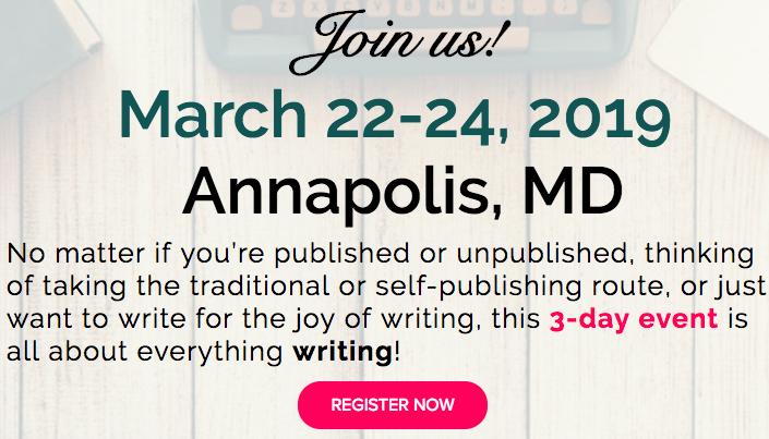 The Genuine Writer's Retreat 2019 Annapolis, Maryland