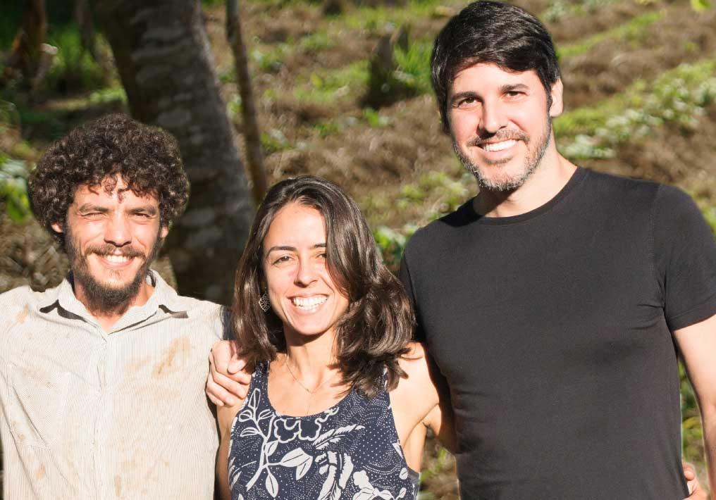 Rômulo Araújo, Dayana Andrade e Felipe Pasini