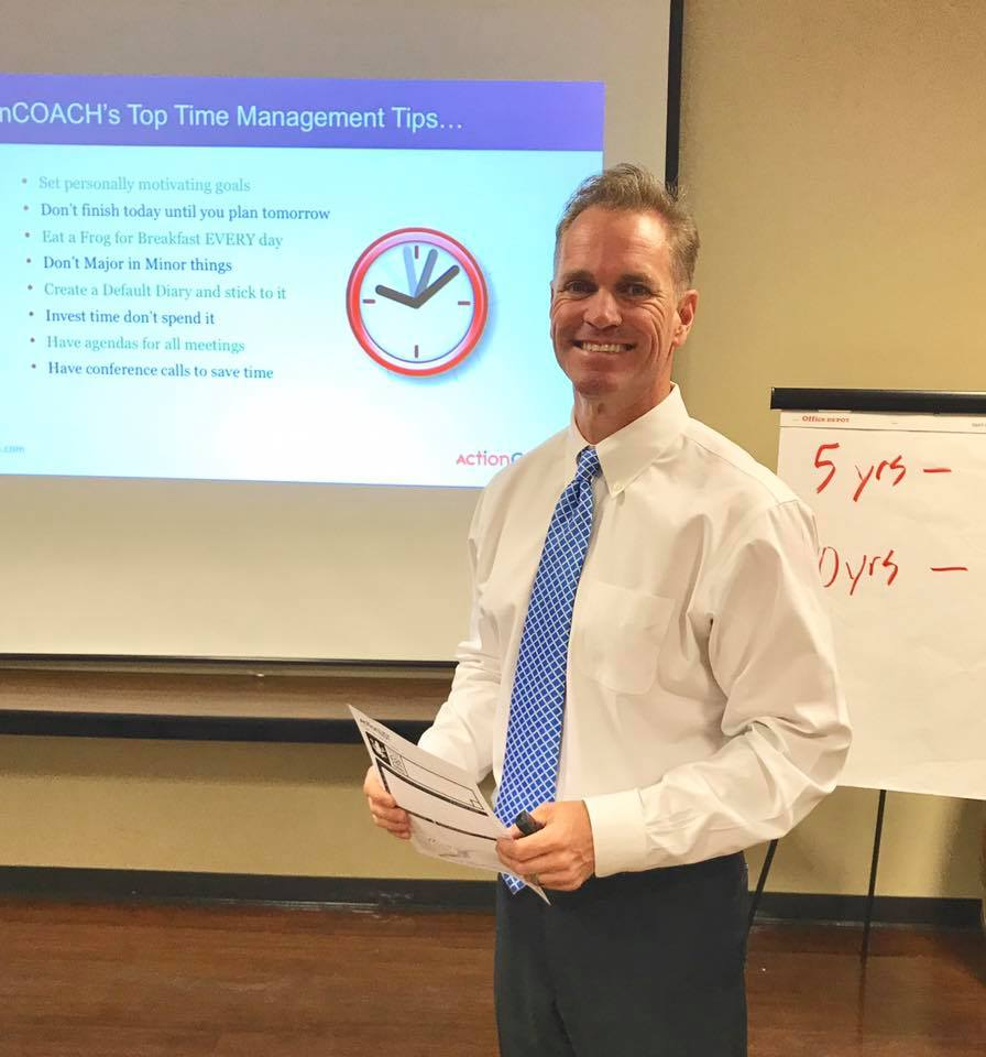Speaker Tom Dougherty at 6 Steps to a Wining Business