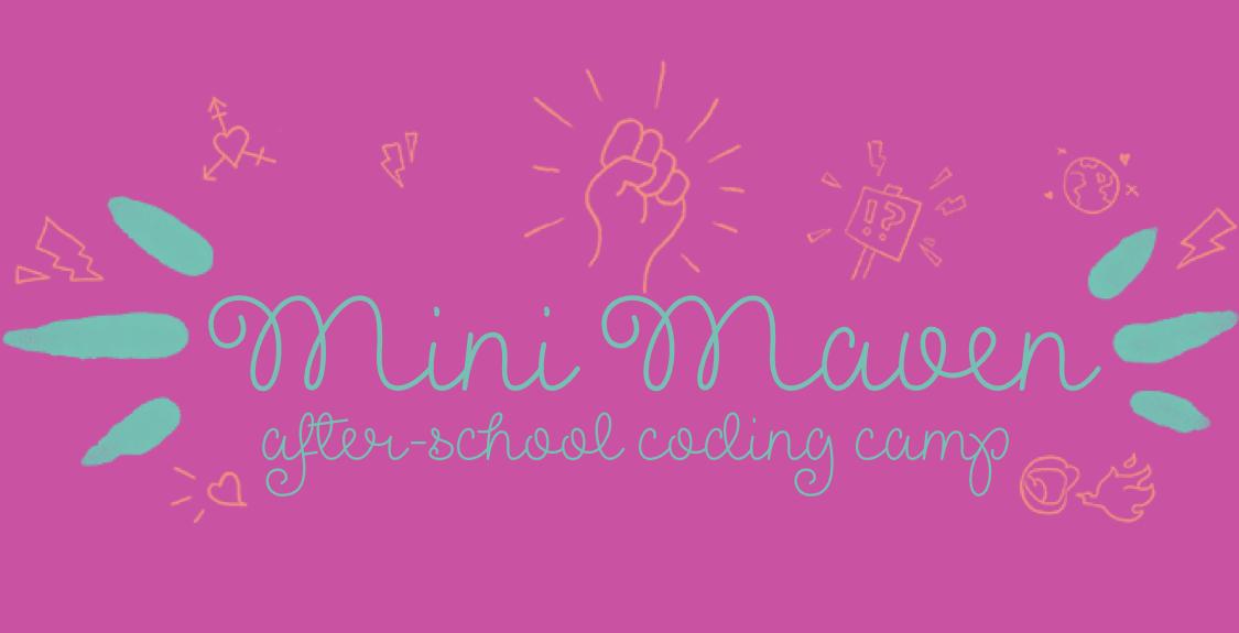 mini maven coding club logo